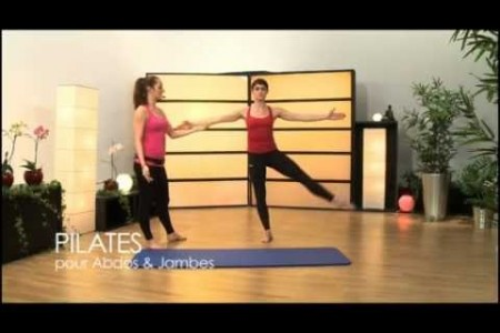 Comment avoir de belles jambes grâce aux pilates